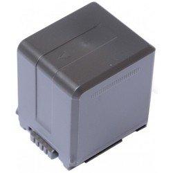 Аккумулятор для Panasonic HDC-DX1, HDC-HS100, HDC-HS20, HDC-HS9, HDC-SD1, HDC-SD10, HDC-SD100, HDC-SD20, HDC-SD5, HDC-SD600, HDC-SD700, HDC-SD9, HDC-SDT750, HDC-SX5, HDC-TM10, HDC-TM20, NV-GS120, NV-GS90, SDR-H40, SDR-H50, VDR-D50 (Pitatel SEB-PV723)