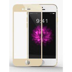 Защитное стекло для Apple iPhone 6, 6S (100137) (золотистый)