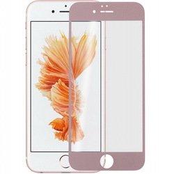 Защитное стекло для Apple iPhone 6, 6S (100138) (розовый)