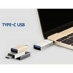 Адаптер USB - USB Type-C (Baseus Sharp 99964) (серый)