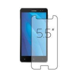 """Универсальное защитное стекло для телефонов 5.5"""" (Deppa 62229)"""