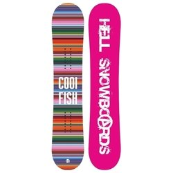 Hell Snowboards Cool Fish (16-17)