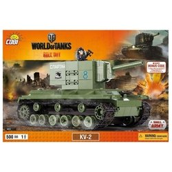 Cobi World of Tanks 3004 КВ-2