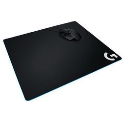 Logitech G640 Cloth Gaming Mouse Pad (943-000089) (черный)