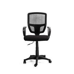 Кресло Recardo Practic (чёрное ткань сетчатая спинка)
