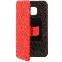 Чехол-книжка для Samsung Galaxy J1 mini J105 (TFN FlipCover BC-05-006PURD) (красный)