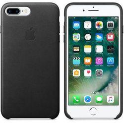 Чехол-накладка для Apple iPhone 7 Plus (Apple Leather Case MMYJ2ZM/A) (черный)