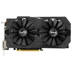 ASUS GeForce GTX 1050 1442Mhz PCI-E 3.0 2048Mb 7008Mhz 128 bit 2xDVI HDMI HDCP Strix OC Gaming RTL