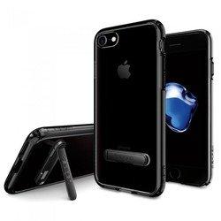 Чехол-накладка для Apple iPhone 7 (Spigen Ultra Hybrid S 042CS20839) (ультра-черный)