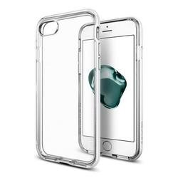 Чехол-накладка для Apple iPhone 7 (Spigen Neo Hybrid Crystal 042CS21040) (ультра белый)