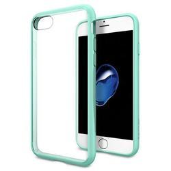 Чехол-накладка для Apple iPhone 7 (Spigen Ultra Hybrid 042CS20447) (мятный)