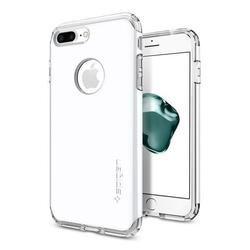 Чехол-накладка для Apple iPhone 7 Plus (Spigen Hybrid Armor 043CS21046) (ультра белый)