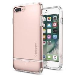 Чехол-накладка для Apple iPhone 7 Plus (Spigen Flip Armor 043CS20821) (розовое золото)