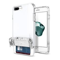 Чехол-накладка для Apple iPhone 7 Plus (Spigen Flip Armor 043CS21047) (ультра-белый)