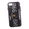 Чехол-накладка для Apple iPhone 7 (Liberti Project 0L-00030311) (Номер Италия Ламборгини) - Чехол для телефонаЧехлы для мобильных телефонов<br>Чехол-накладка с фактурным покрытием плотно облегает заднюю крышку телефона и гарантирует ее надежную защиту от пыли, царапин, потертостей и других вешних воздействий.<br>