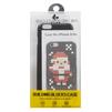 Чехол-накладка для Apple iPhone 6, 6S (Building Block Case 0L-00030196) (черный, Дед Мороз)  - Чехол для телефонаЧехлы для мобильных телефонов<br>Чехол-накладка плотно облегает заднюю крышку телефона и гарантирует ее надежную защиту от пыли, царапин, потертостей и других вешних воздействий. Рисунок на аксессуаре собирается как конструктор.<br>