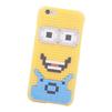 Чехол-накладка для Apple iPhone 6, 6S (Building Block Case 0L-00030199) (желтый, Миньон) - Чехол для телефонаЧехлы для мобильных телефонов<br>Чехол-накладка плотно облегает заднюю крышку телефона и гарантирует ее надежную защиту от пыли, царапин, потертостей и других вешних воздействий. Рисунок на аксессуаре собирается как конструктор.<br>
