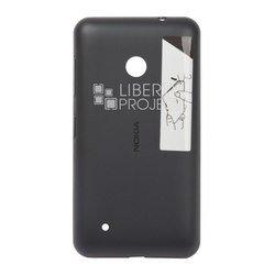 Задняя крышка для Nokia Lumia 530 (Liberti Project 0L-00000574) (черный)