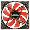 GameMAX GMX-WF12R - Кулер, охлаждениеКулеры и системы охлаждения<br>Система охлаждения для корпуса, 1 вентилятор 120 мм, скорость 1200 об/мин, уровень шума 23 дБ, цвет подсветки: красный.<br>