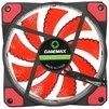 GameMAX GMX-GF12R - Кулер, охлаждениеКулеры и системы охлаждения<br>Система охлаждения для корпуса, 1 вентилятор 120 мм, скорость 1200 об/мин, уровень шума 23 дБ, цвет подсветки: красный.<br>