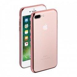 Чехол-накладка для Apple iPhone 7 Plus (Deppa Gel Case 85262) (розово-золотистый)