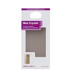 Силиконовый чехол-накладка для Tele2 Maxi LTE (iBox Crystal YT000010206) (серый)