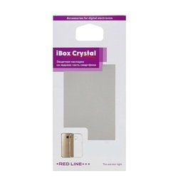 Силиконовый чехол-накладка для Tele2 Midi 1.1 (iBox Crystal YT000010204) (прозрачный)