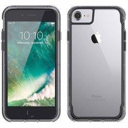 Чехол-накладка для Apple iPhone 6, 6S, 7 (Griffin Survivor Clear GB42310) (прозрачный, серый)