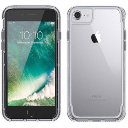 Чехол-накладка для Apple iPhone 6, 6S, 7 (Griffin Survivor Clear GB42314) (прозрачный, серый космос)