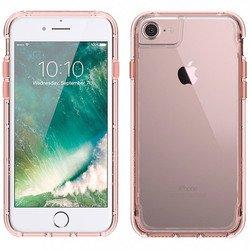 Чехол-накладка для Apple iPhone 6, 6S, 7 (Griffin Survivor Clear GB42313) (прозрачный, розово-золотистый)