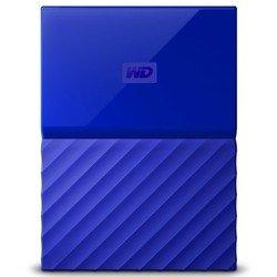 WD My Passport 4TB (WDBUAX0040BBL-EEUE) (синий)