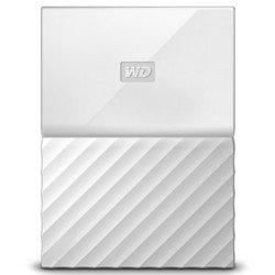 WD My Passport 4TB (WDBUAX0040BWT-EEUE) (белый)