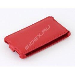 Чехол-флип для MEIZU M3 Note (iBox Premium YT000009233) (красный)