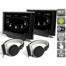 """Навесной монитор на подголовник для Audi A8 D4 (2010-...) 10.1"""" (комплект, 2шт) (Avis AVS1033AN (#03))"""