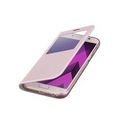 Чехол-книжка для Samsung Galaxy A5 2017 (EF-CA520PPEGRU S View Standing Cover) (розовый)