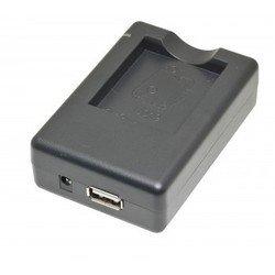 Зарядное устройство для аккумулятора Nikon EN-EL-11, Olympus Li-60B, Ricoh DB-80, Sanyo DB-L70 + USB (iSmartdigi PVC-003)