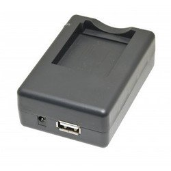 Зарядное устройство для аккумулятора Olympus Li-80B, Minolta NP-900, Pentax D-Li88, Sanyo DB-L80 + USB (iSmartdigi PVC-009)