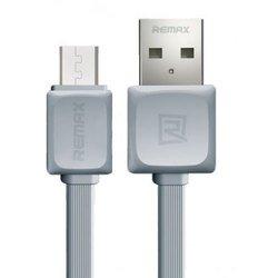 Дата-кабель USB - microUSB (Remax Fast 14291) (серый)