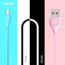 Кабель USB - microUSB (Remax LESU RT-050m) (розовый)