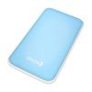 OXION OPB-1011 (голубой) - Внешний аккумуляторУниверсальные внешние аккумуляторы<br>10000мАч, USBx2, max ток 2А, фонарик.<br>
