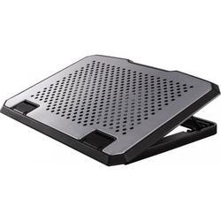"""Охлаждающая подставка для ноутбука до 17.3"""" (Hama H-53064) (серебристый)"""