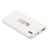 Универсальный внешний аккумулятор 1хUSB 4000 мАч (Liberti Project 0L-00029994) (белый) - Внешний аккумуляторУниверсальные внешние аккумуляторы<br>Портативное зарядное устройство для зарядки мобильных устройств. Емкость 4000 мАч, 1хUSB (выход), microUSB (вход), 2100 мА, 5 В. Кабель USB - microUSB, индикатор заряда, фонарик.<br>
