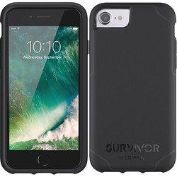 Чехол-накладка для Apple iPhone 7 (Griffin Survivor Journey GB42765) (черный)