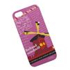 Чехол-накладка для Apple iPhone 5, 5S (UMKU 0L-00002613) (розовый, рисунок)  - Чехол для телефонаЧехлы для мобильных телефонов<br>Плотно облегает корпус телефона и гарантирует надежную защиту от царапин и потертостей.<br>