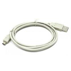 Кабель USB-miniUSB B (Telecom TC6911WH-1.8M) (белый)