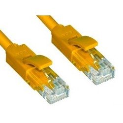 Патч-корд UTP кат. 6, RJ45 15 м (Greenconnect CR-LNC602-15.0m) (желтый)