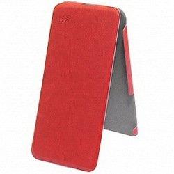 Чехол флип-кейс для Apple iPhone 6, 6S (Brera Flip Ultra Slim 42240) (красный)