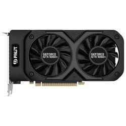 Palit GeForce GTX 1050 Ti 1290Mhz PCI-E 3.0 4096Mb 7000Mhz 128 bit DVI HDMI HDCP Dual RTL