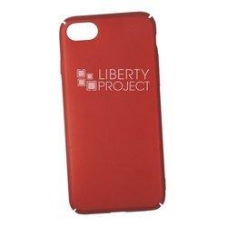 Чехол-накладка для Apple iPhone 7 (Liberti Project 0L-00030609) (красный)