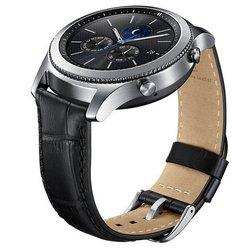 Ремешок для Samsung Galaxy Gear S3 classic (ET-YSA76MBEGRU) (черный)